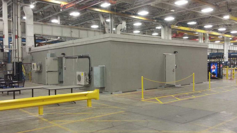 Employee Storm Shelter & Restroom Facility