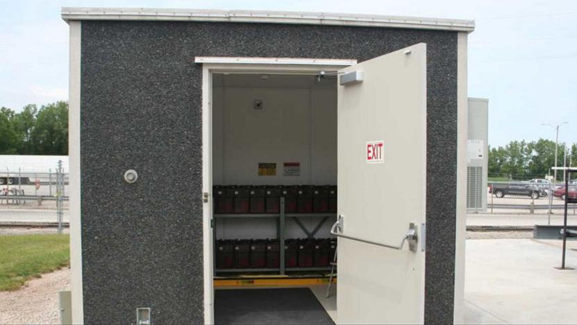 Battery Enclosure Building